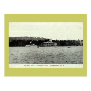 Chautauqua Lake, Jamestown NY 1909 Vintage Postcard