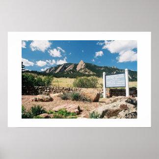 Chautauqua Park, Boulder, Colorado Poster