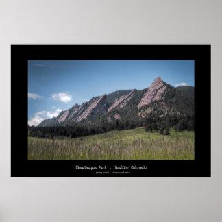 Chautauqua Park - Boulder, Colorado Poster