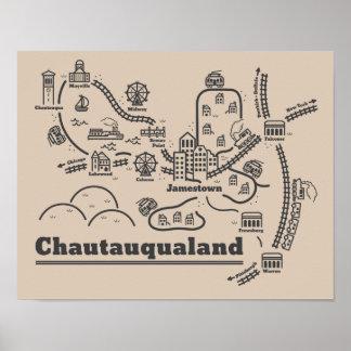 Chautauqualand Poster (11 x 14)