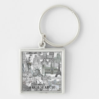 Chaveiro 3,5cm Mural Arch Search Key Ring