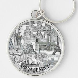 Chaveiro 5,4cm Mural Arch Search Key Ring