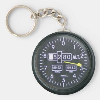 Chaveiro Altimeter - Sea Style 2010 Basic Round Button Key Ring
