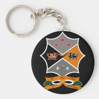 Chaveiro. Basic Round Button Key Ring