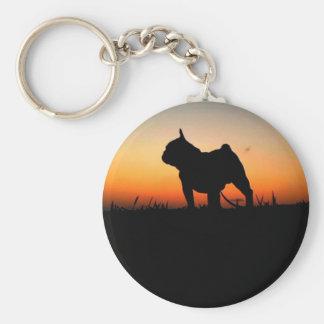 "Chaveiro ""Buldog put-pity-sun "" Key Ring"