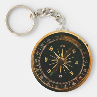 Chaveiro Compassing - Sea Style 2010 Basic Round Button Key Ring