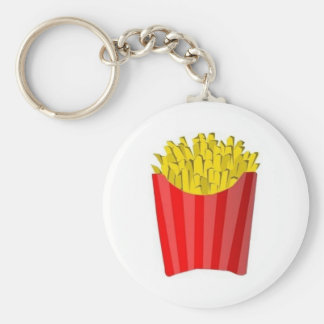 Chaveiro Everything With Fried Basic Round Button Key Ring