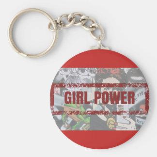 Chaveiro Girl Power Key Ring