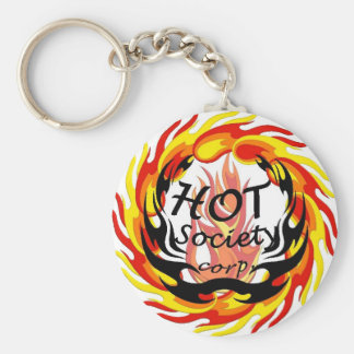 Chaveiro HSC - Collection fire Basic Round Button Key Ring