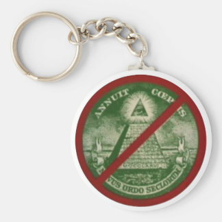 Chaveiro Killuminati Basic Round Button Key Ring