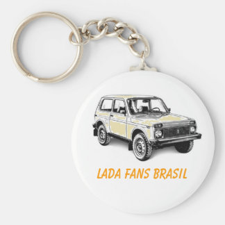 CHAVEIRO LADA FANS BRAZIL KEY RING