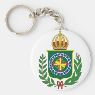 Chaveiro Monarquista Basic Round Button Key Ring