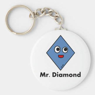 Chaveiro Mr. Diamond By Par3a Key Ring