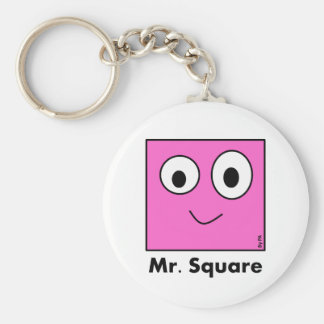 Chaveiro Mr. Square By Par3a Key Ring