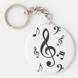 Chaveiro musical claves key ring