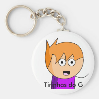 Chaveiro of the G Basic Round Button Key Ring