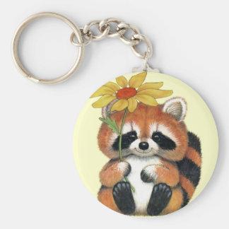 "Chaveiro ""Raccoon "" Key Ring"