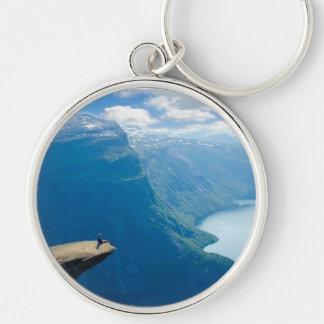 Chaveiro Redondo Beyond the Horizon Silver-Colored Round Key Ring