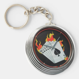 Chaveiro Royal Basic Round Button Key Ring