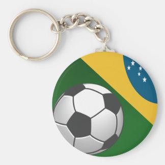 Chaveiro Série Brasil - Bola de Futebol
