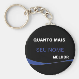 Chaveiro The more… Better Key Ring