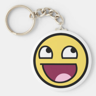 Chaveiros of the Weresome face Basic Round Button Key Ring