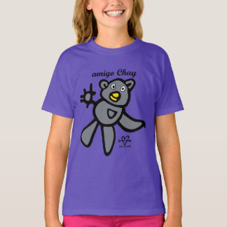 Chay friend: This bear is companionable! T-Shirt
