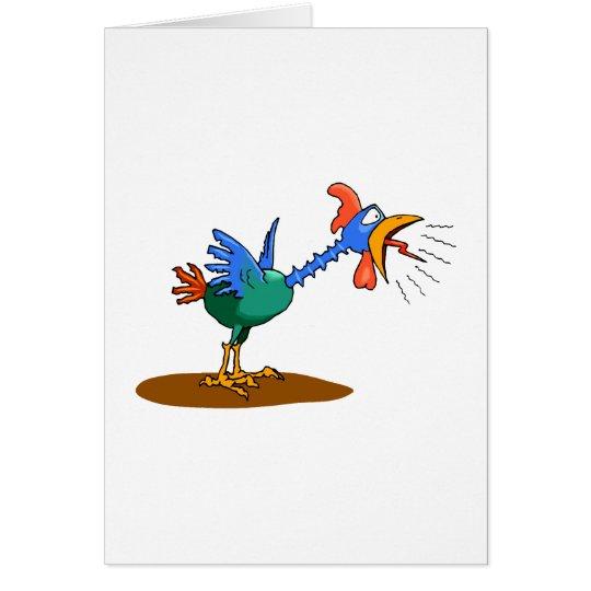 Chaz Chicken Card