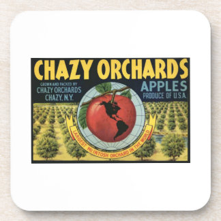 Chazy Orchards Apples Drink Coasters