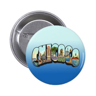 Chcago Pinback Buttons