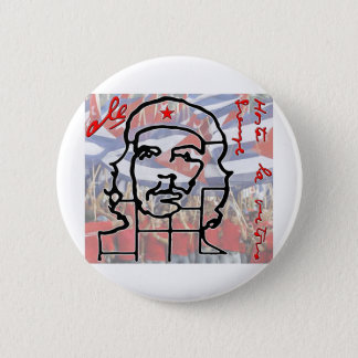 Che 6 Cm Round Badge