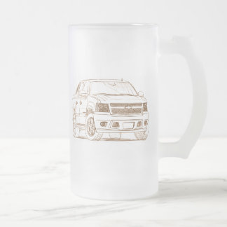 Che Avalanche 2007 Frosted Glass Beer Mug
