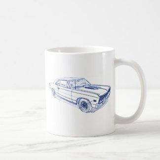 Che Chevelle 1967 Coffee Mug