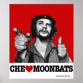 Che Guevara - Che Heart Moonbats Poster