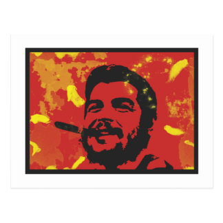 Che Guevara Pop Art Print Postcard