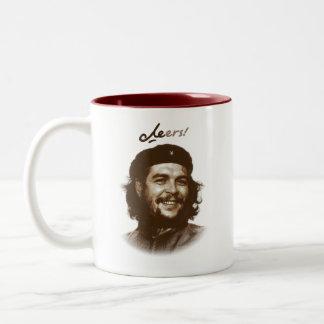 "Che Guevara Smile ""Cheers"" Two-Tone Mug"