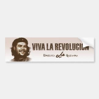 Che Guevarra Smile Bumper Stickers