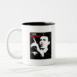 Che Obama logo idiots4obama.com coffee cup