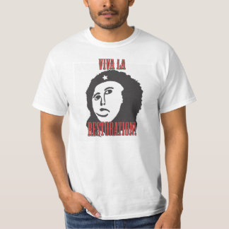 Che style Restoration Fuzzy Jesus Painting meme Shirt