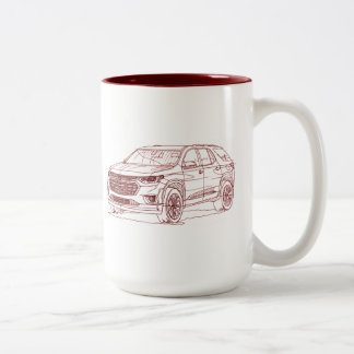 Che Travers 2017 Two-Tone Coffee Mug