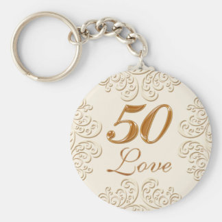 Cheap 50th Anniversary Party Favors Keychains