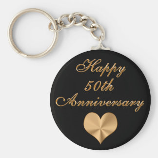 Cheap 50th Wedding Anniversary Gifts Keychains
