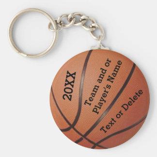Cheap Basketball Keychains 3 Text Box Templates