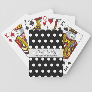 Cheap Bridesmaid Thank You Gifts Playing Cards