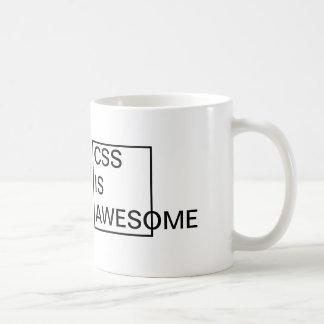 Cheap CSS is AWESOME MUG