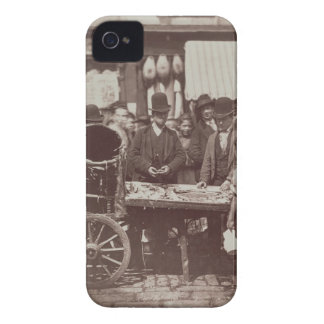 Cheap Fish of St. Giles, from 'Street Life in Lond iPhone 4 Case