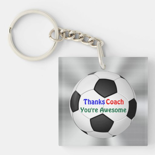 Cheap Gifts for Soccer Coaches, Soccer Keychains Keychain