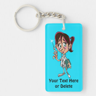 Cheap Nurse Gifts Personalized for Her Key Ring