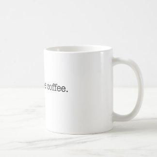 Cheap office coffee basic white mug