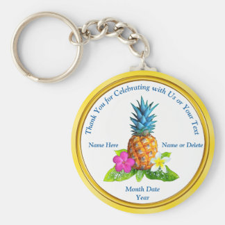 Cheap Personalized Hawaiian Party Favors Key Ring